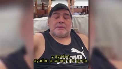 Diego saluda a Corzones Solidarios