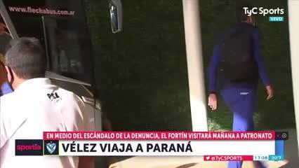 La salida de Vélez a Paraná