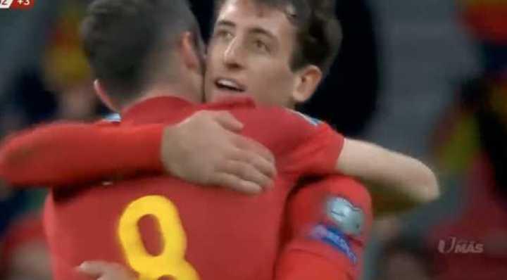 España le metió 5 a Rumania