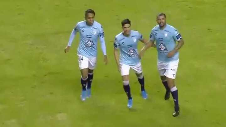 Los últimos dos goles de Cardona en Pachuca