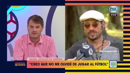 Osvaldo le quiere dar una mano a Boca