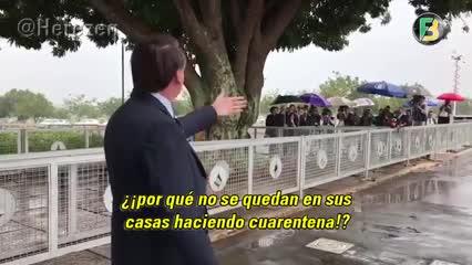 La provocación de Bolsonaro