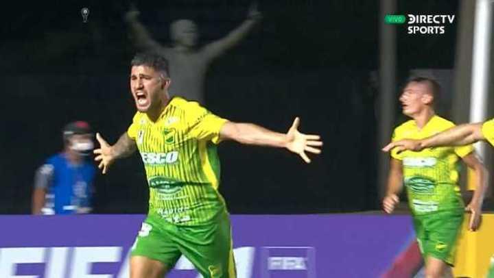 Hachen marcó el 1 a 0 del Halcón en Brasil
