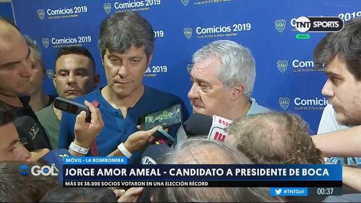 Ameal y Pergolini hablaron de las elecciones en Boca