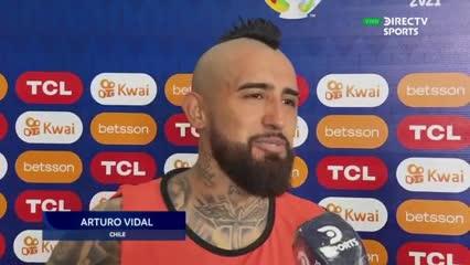 Arturo Vidal reconoció lo sucedido con el peluquero y la Selección de Chile