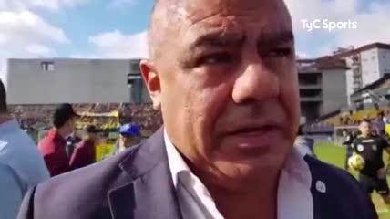 Chiqui Tapia habló de la situación de Tigre