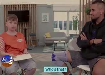 La respuesta de Kyrgios cuando le preguntaron por Djokovic