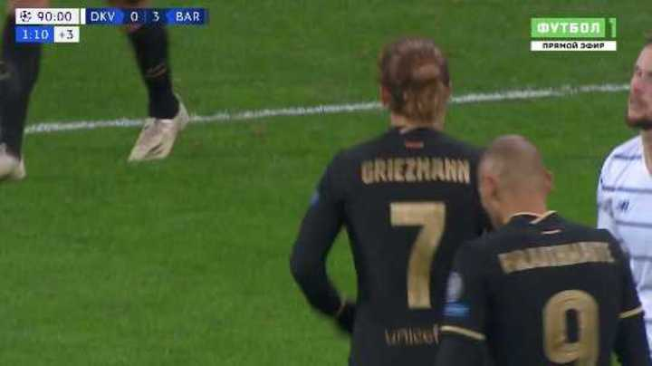 Griezmann marcó el cuarto de Barcelona