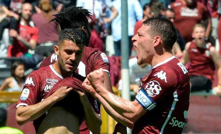 El golazo de Andrea Belotti para el triunfo 3-2 de Torino sobre Sassuolo