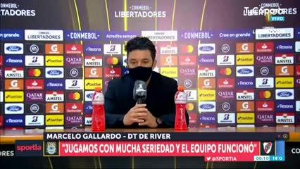 Gallardo y su respuesta ante la pregunta de Olé