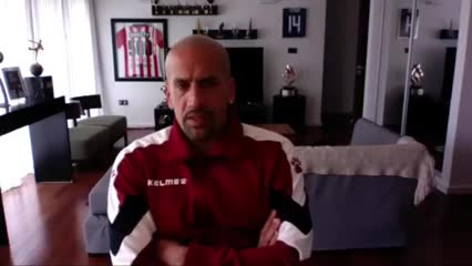Juan Sebastián Verón y su equipo preferido