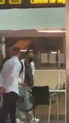 Dest llegó al aeropuerto de Barcelona