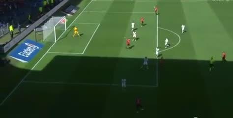 Laborde y el 1-0 del Rennes ante PSG