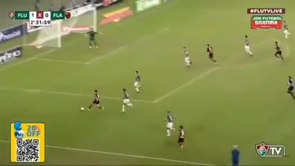 Pedro metió el empate del Flamengo