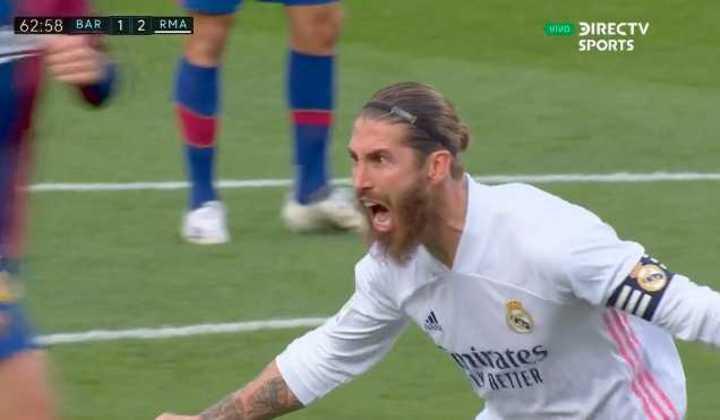 Ramos marcó el 2 a 1 de penal