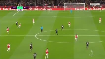El City goleó al Arsenal por 3 a 0 ¡Mirá los goles!