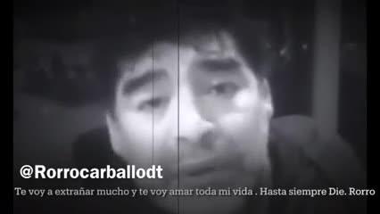 """""""Esta vez el barba eligió mal"""", dijo Diego en un viejo video"""