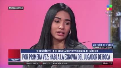 """Daniela Cortés: """"Me agarraba del pelo y me daba puños"""""""