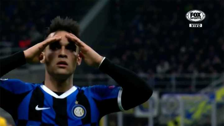 Lautaro no pudo convertir el gol del empate