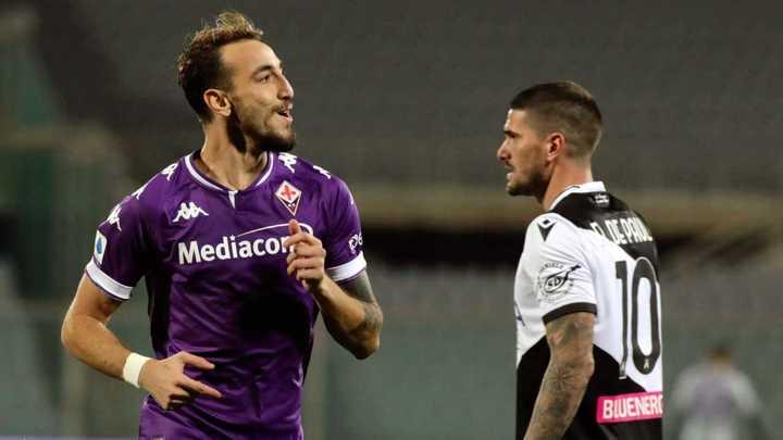 La Fiorentina le ganó 3 a 2 al Udinese
