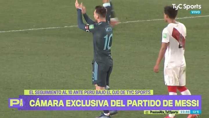 El partido de Messi