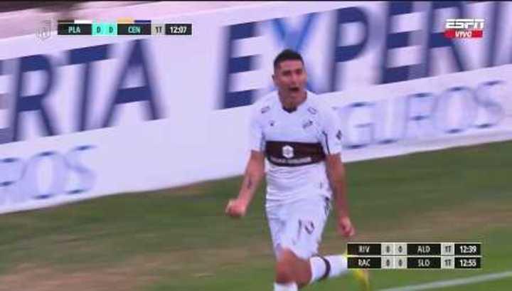 Pereyra Díaz marcó el 1 a 0