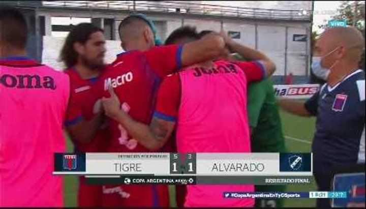 Tigre avanzó a 16avos. de la Copa Argentina