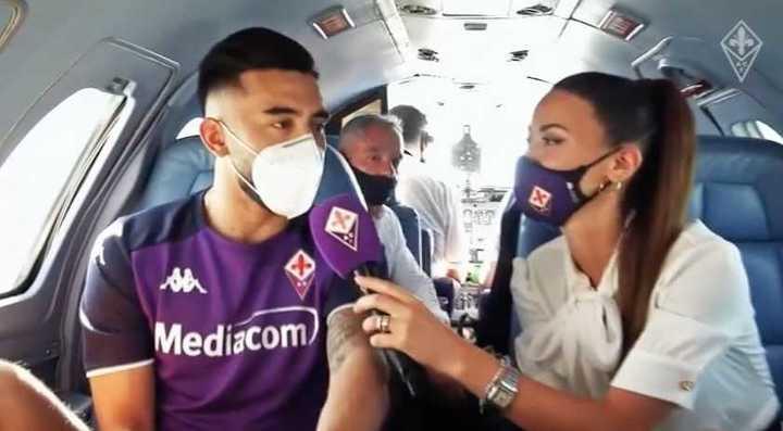 Nico González llegó a Fiorentina