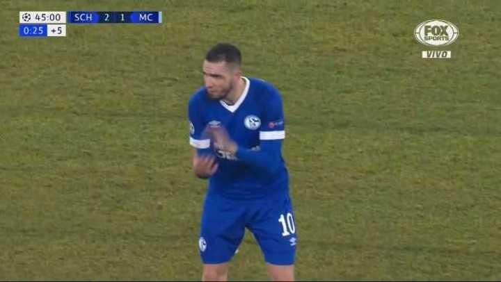 Doblete de Bentaleb y 2 a 1 para el Schalke