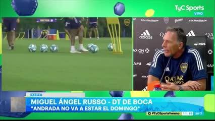 Russo marcó sus dos ejes clave a nivel futbolístico
