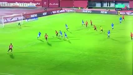 El primer gol de Luka Romero como profesional