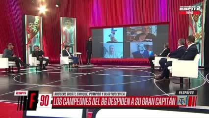 El Negro Enrique recordó una anécdota con Maradona que hizo reír a todos