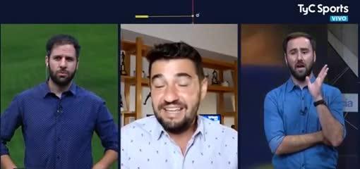 Tato Aguilera sintió el sismo en CABA mientras hacía un informe en vivo