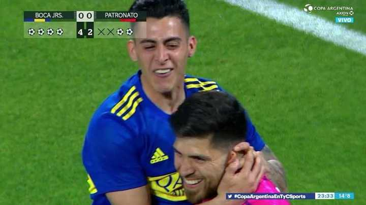 Boca ganó 4 a 2 en los penales