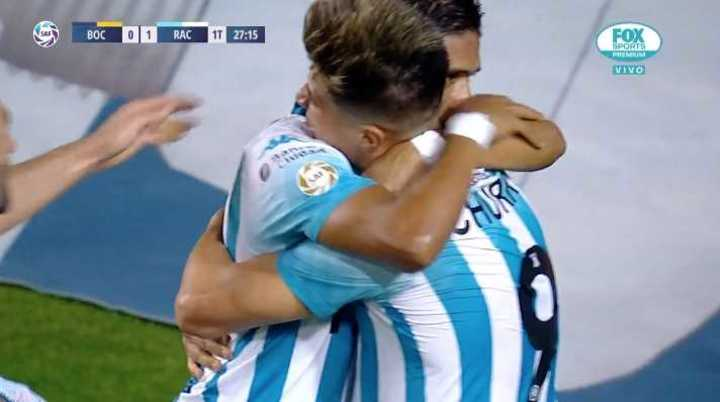 Dos goles iguales a Boca