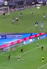 Idénticos: los goles de Álvarez y Francescoli