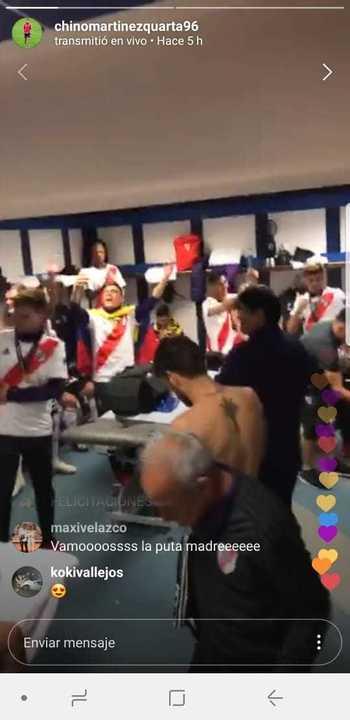El nuevo hit de los jugadores de River contra Boca