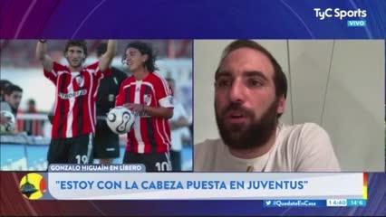 Higuaín habló de Gallardo