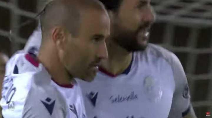 Gol de Palacio para Bologna