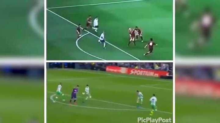 La jugada de Messi con Benedetto que se hizo viral