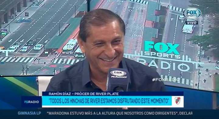 Ramón Díaz sobre Marcelo Gallardo