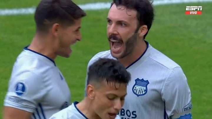Rodríguez lo empató para Emelec