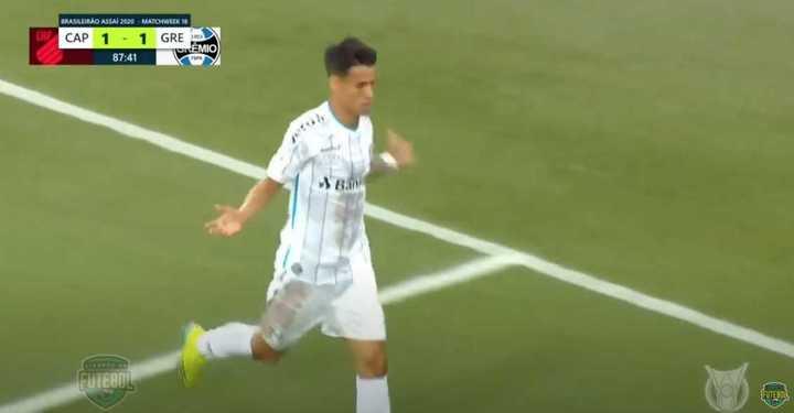 Los goles de la caída de Athletico Paranaense ante Gremio