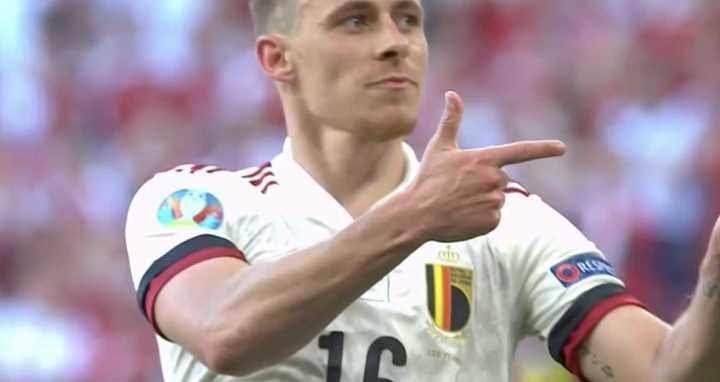 Thorgan Hazard empató para Bélgica