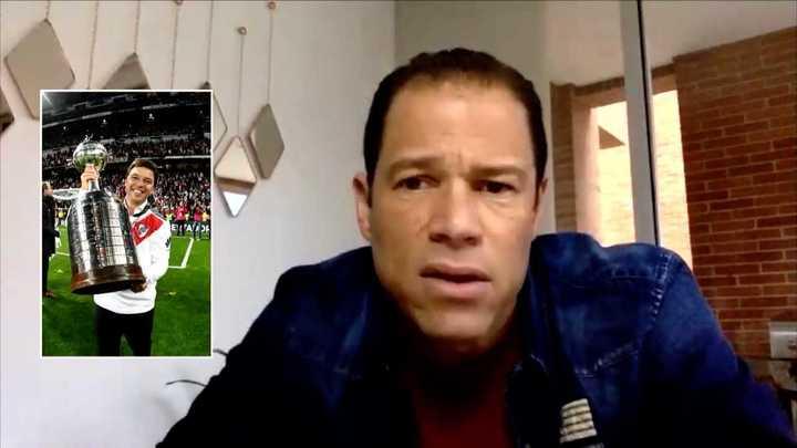 El elogio de Óscar Córdoba a Marcelo Gallardo