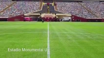 Así es el estadio Monumental de Lima