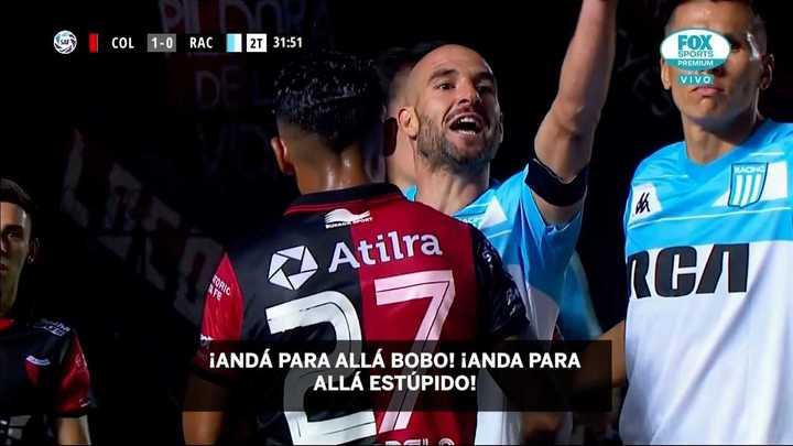 Licha López contra el AC de Colón