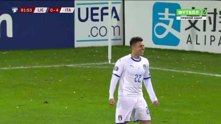 Goleada de Italia frente a Liechtenstein