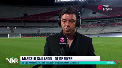 """""""Haberle sacado cuatro puntos es importante"""", dijo Gallardo"""