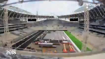 El nuevo estadio del Tottenham, en menos de dos minutos